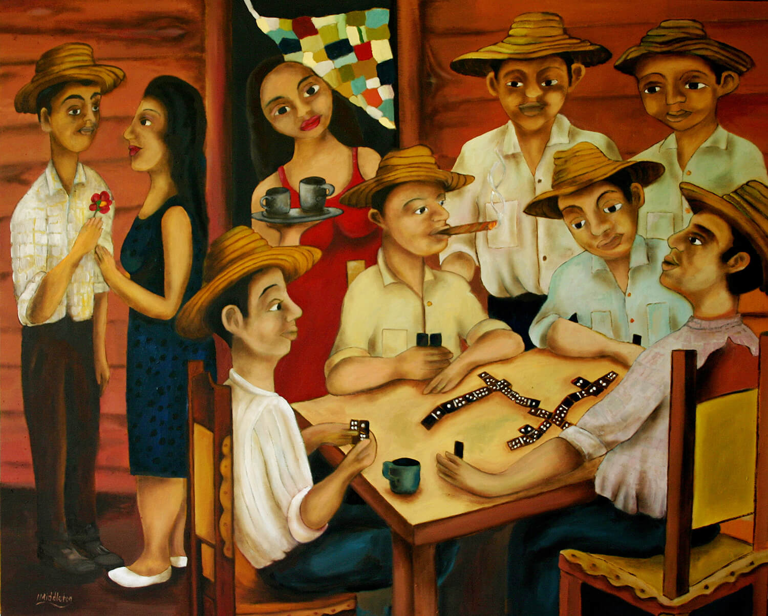 The Domino Players